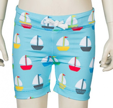 JNY colourful kids UV-Swimshorts Sailing
