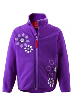 Reima Fleecejacke Leilani - purple