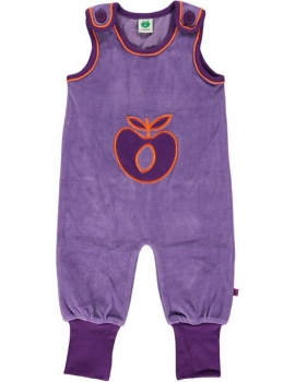 Smafolk Body suit velvet big apple purple