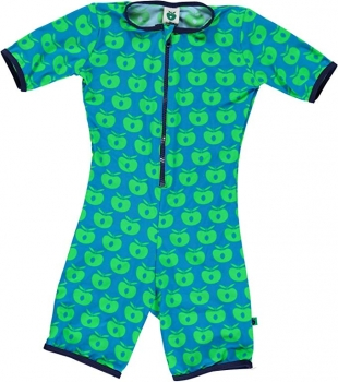 Smafolk Swimsuit Apples green/blue