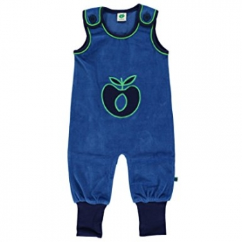 Smafolk Body suit velvet big apple blue