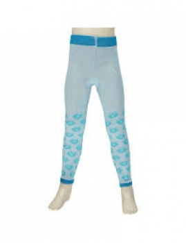 Smafolk Leggings Apples Baby Blue