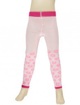 Smafolk Leggings Apples Baby pink