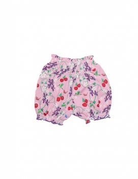 Snoozy Girl Shorts cherry