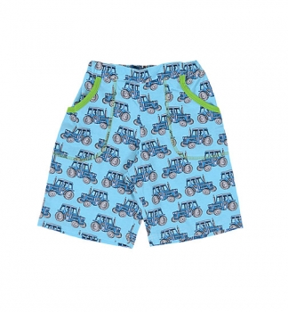 Snoozy Skate Shorts tractor