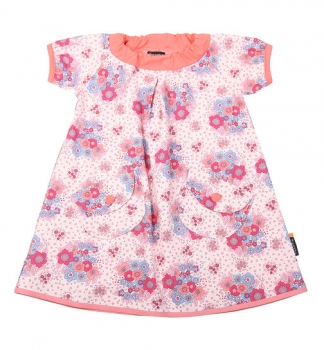 Ziestha dress flower pink