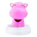 Alecto LED Nachtlicht Silly Hippo
